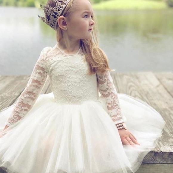 Belle Threads Flower Girl Dress- Etsy Purchase